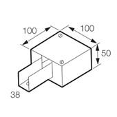 Perfilado Caixa de Derivação tipo I 38x38mm Chapa n°18 PG 936258 CEMAR