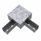 Perfilado Caixa de Derivação tipo L 38x38mm Chapa n°18 PG 936260 CEMAR