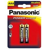 Pilha Alcalina com 2 Peças AAA Panasonic