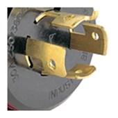 Plugue Industrial Macho com Trava e Saída Axial 3P+T 32A 440V 564 07 PIAL