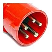 Plugue Industrial Macho Vermelho 3P+T+N 32A 440V IP44 N5276-NEWKON STECK