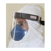 """Protetor Facial de Policarbonato com Testeira Ajustável 8""""/200mm 200E LEDAN"""