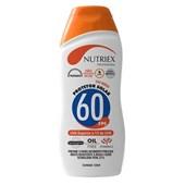 Protetor Solar UV Fps 60 120ml 0060962 NUTRIEX