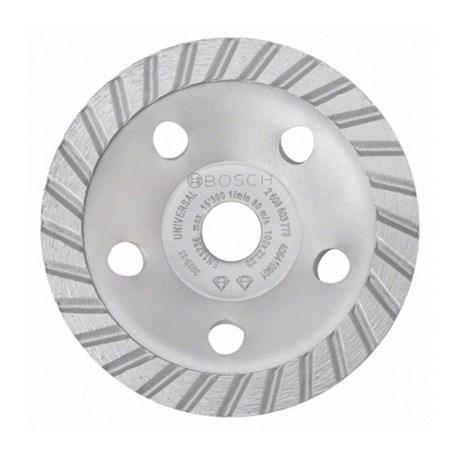 Rebolo Prato Diamantado 100x22,23mm Turbo Universal 2608601778 BOSCH