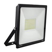 Refletor Projetor LED 100W 6500K Bivolt Preto 12797 ESCONOMAX KIAN