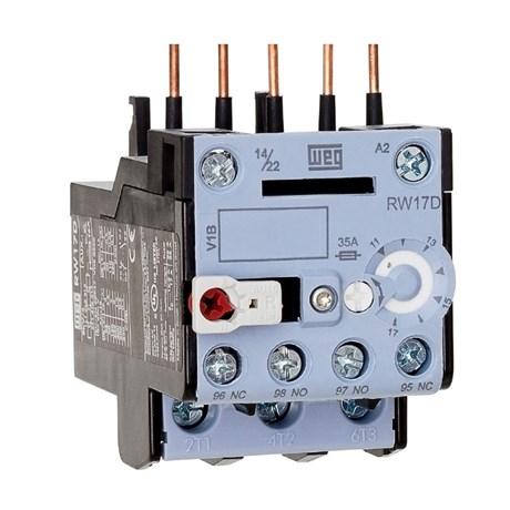Relé de Sobrecarga 3P 8 -12.5A RW17-1D3-D125 WEG