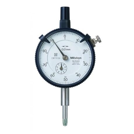 Relógio Comparador Analógico 10mm 0,01mm 2046S MITUTOYO