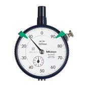 Relógio Comparador Analógico 10mm 0,01mm 2902SB MITUTOYO