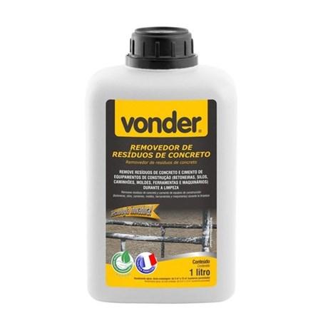 Removedor de Resíduos de Concreto Biodegradável 1 Litro 5180000100 VONDER