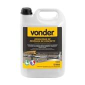 Removedor de Resíduos de Concreto Biodegradável 5 Litros 5180000500 VONDER