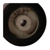 Roda de Borracha Elástica 125x38mm 180Kg B721113 TELLURE