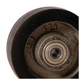 Roda de Borracha Elástica 150x50mm 300Kg com Rolamento B722124 TELLURE