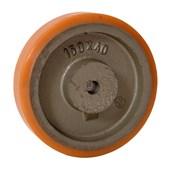 Roda Poliuretano TR 125x38mm 400Kg B641113 TELLURE