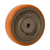Roda Poliuretano TR 75x32mm 220Kg B641101 TELLURE