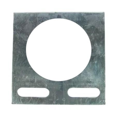 "Saída Horizontal para Eletroduto 2"" 38x38mm Chapa n°16 PG 938626 CEMAR"