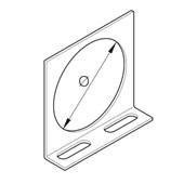 """Saída Vertical para Eletroduto 2"""" 38x38mm Chapa n°16 PG 938640 CEMAR"""