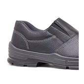 Sapato de Segurança Preto com Elástico de Bico PVC 2020BSES4600LL BRACOL