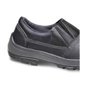 Sapato de Segurança PU Elástico com Bico de PVC 4095USLS4600LB BRAVO