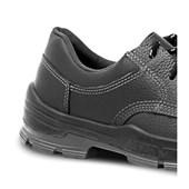 Sapato de Segurança PU Preto com Bico de PVC 4045BSAS4400LL BRACOL