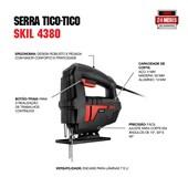 Serra Tico Tico 380W 1 Velocidade 4380 SKIL