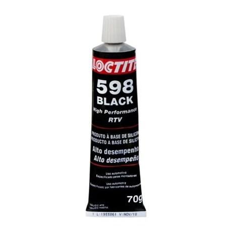 Silicone para Vedação Neutro Black 70g 598 LOCTITE