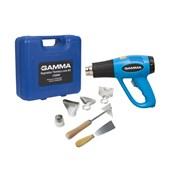 Produto Soprador Térmico 1500W 300/550C com Maleta e Acessórios G1935K/BR GAMMA