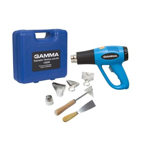 Soprador Térmico 1500W 300/550C com Maleta e Acessórios G1935K/BR GAMMA