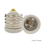 Soquete Adaptador E40 para E27 4A 250V em Porcelana MT2423 DECORLUX