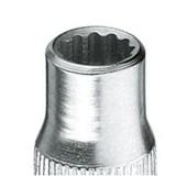 """Soquete Estriado 13 mm Encaixe 1/4"""" D20-13 GEDORE"""