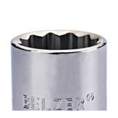 """Soquete Estriado 60 mm Encaixe 1"""" 235507BR BELZER"""