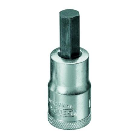 "Soquete Hexagonal 7mm com Encaixe 1/2"" IN19-7 GEDORE"
