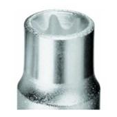 """Soquete Torx Hexalobular E18 16,70 mm Encaixe 1/2"""" TX19-E18 GEDORE"""