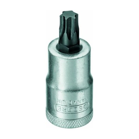 "Soquete Torx Hexalobular T50 8,83 mm Encaixe 1/2"" ITX19-T50 GEDORE"
