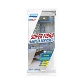 Super Fibra para Limpeza sem Risco 110x225mm Branco 78072744174 NORTON