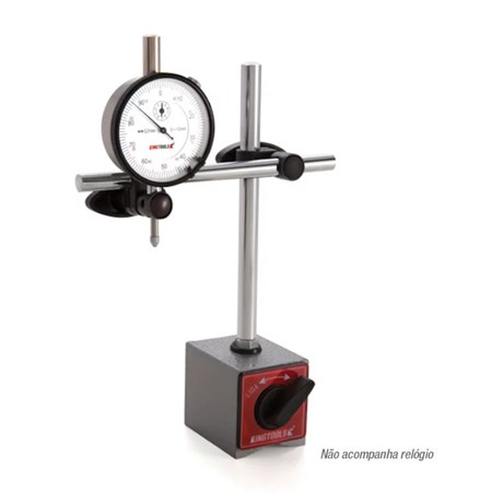 Suporte Magnético sem Ajuste Fino 230mm 506.600 KINGTOOLS