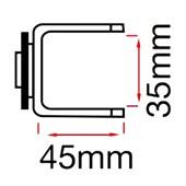 Suporte para Painel de Ferramentas 45x35mm SM-C2 MARCON