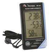 Termo-Higrômetro Digital 0°C a 50°C MT-241