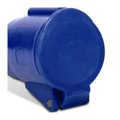 Tomada Acoplamento Industrial Azul 2P+T 32A 250V IP44 S3256-BRASIKON STECK