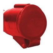 Tomada Acoplamento Industrial Vermelho 3P+T 32A 440V IP44 S4256-BRASIKON STECK