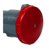 Tomada Acoplamento Industrial Vermelho 3P+T 63A 440V IP67 S4556-BRASIKON STECK