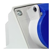 Tomada Industrial de Sobrepor com tampa Azul 3P+T+N 32A 250V IP44 N5209-NEWKON STECK