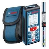 Trena a Laser 80 Metros com Régua de Inclinação GLM 80+R60 BOSCH
